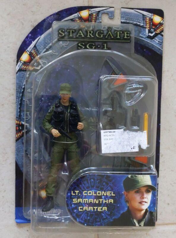 NEW STARGATE SG-1 SERIES 2 SAMANTHA CARTER ACTION FIGURE LIEUTENANT COLONEL! R31