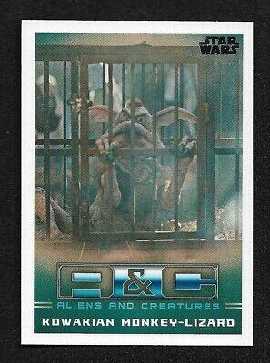 2020 Topps Star Wars The Mandalorian Season 1 Aliens & Creatures AC-4 Kowakian