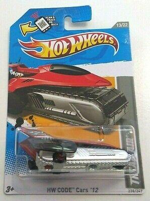 2012 Hot Wheels Code Cars Tread Air Black Red 238/247