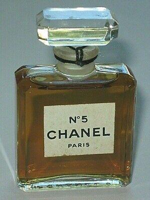 Vintage Perfume Bottle Chanel No 5 Bottle/Boxes 1970s 1/2 OZ Sealed 3/4+ Full