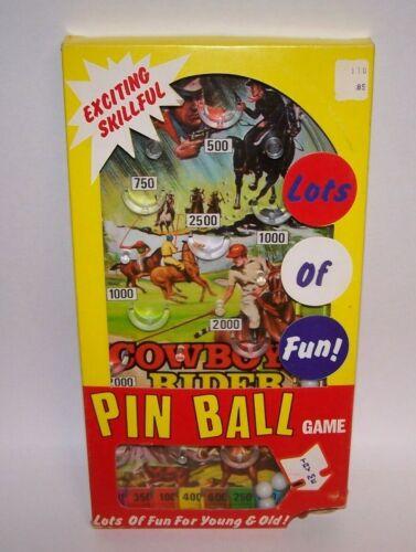 Cowboy Pinball Game Lots Of Fun For Young & Old NIB