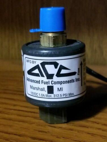 AFC-151 Advanced Fuel Components Solenoid  Lock Off Valve 12 VOLT