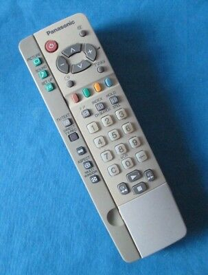 Genuine Original Panasonic EUR511224A TV Remote Control Tested and Cleaned