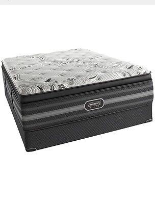 Pillow Top Cal King - Simmons Beautyrest Black Vivianne Luxury Firm Pillow Top Cal King Mattress.
