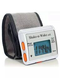 Shake-N-Wake Silent Vibrating Wrist Alarm Clock Detachable Personal for Deaf