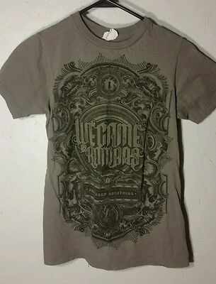 EUC We Came As Romans WCAR Shirt Mens XS Just Keep Breathing HXC Scene FREE (We Came As Romans Just Keep Breathing)
