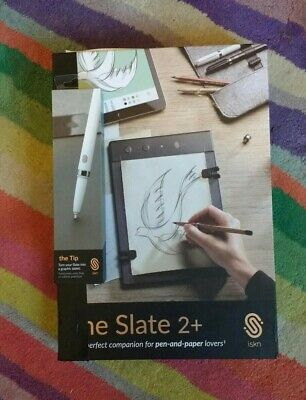 Used, Slate 2+ plus drawing tablet AND graphic pen (The Tip) 2 iskn for sale  Shipping to Nigeria
