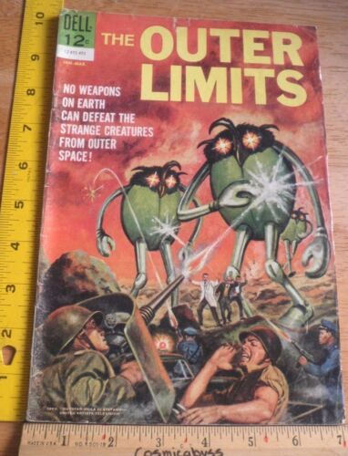 Outer Limits #1 VG Dell comic 1960