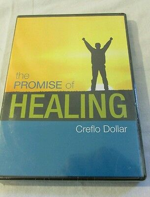 The Promise Of Healing by Creflo Dollar~4 Part CD Series Brand New Sealed