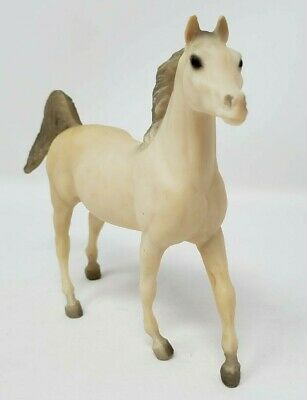 Breyer Model Horse Paddock Pal Arabian Stallion #9045 Alabaster White Loose EUC