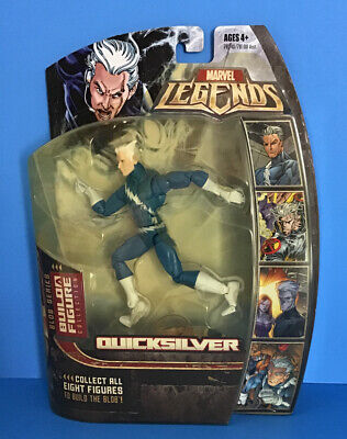 "Marvel Legends BAF Blob Series QUICKSILVER Blue Variant 6"" Action Figure"