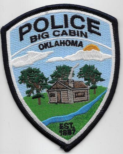 Big Cabin Police State Oklahoma OK Scenic patch NEAT
