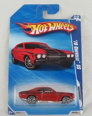 Hot Wheels '70 Chevelle SS (Red) #2 Nightburnerz '10