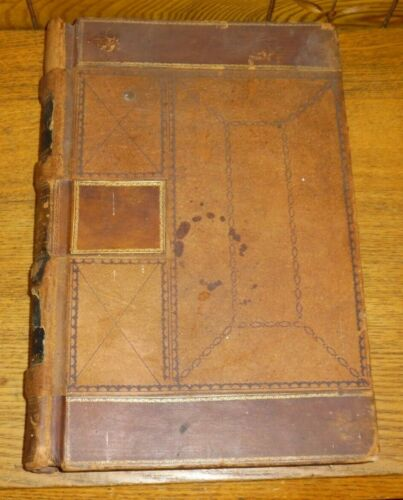 Antique 1867-78 Journal Ledger Book - CT Smith Smith Archer Tea Trader NY China