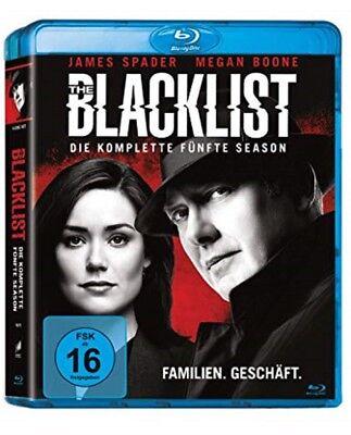 The Blacklist Staffel 5 Blu-ray NEU OVP