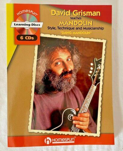 David Grisman Teaches Mandolin 6 CD