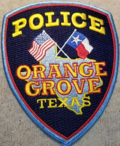 TX Orange Grove Texas Police Patch