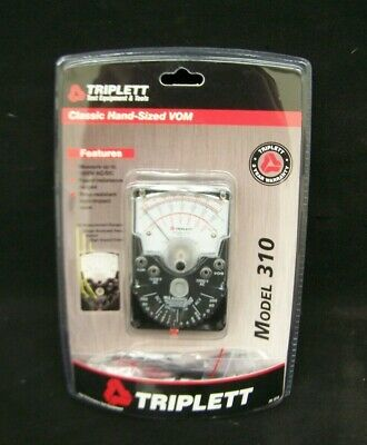 Triplett 310 Classic Compact Analog Vom Meter