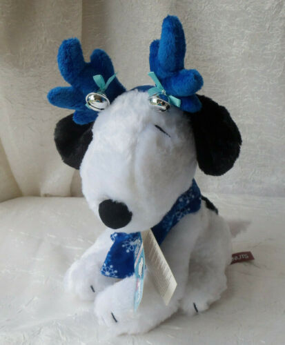 """Peanuts Animated Snoopy 11"""" Plush  Silly and Wild  Christmas Dandee #572"""