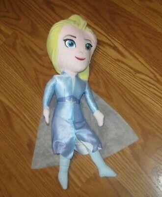 "Kohl's Cares Disney Frozen 2 II 15"" Elsa Plush Doll Stuffed Animal Toy"