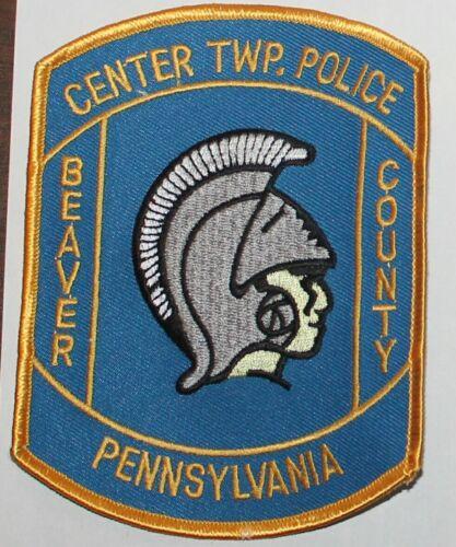 CENTER TOWNSHIP POLICE Beaver County Pennsylvania PA Penna PD patch