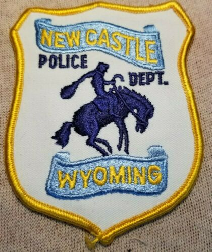 WY New Castle Wyoming Police Patch