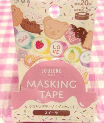 LOUJENE TOKYO / Sweets Fruits Die Cut Washi Paper Masking Tape / Japan