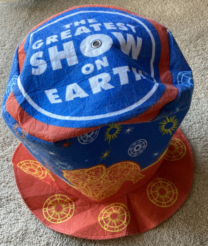 VINTAGE RINGLING BROS and BARNUM & BAILEY CIRCUS HAT The Greatest Show On Earth