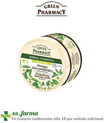 Grüner-tee-creme (Green Pharmacy Grüner Tee Creme Matifiante Haut Fett 150ML Grün Tee Oily Skin)
