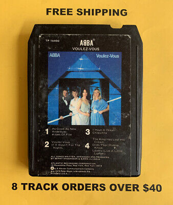ABBA Voulez-Vous 8 track tape tested