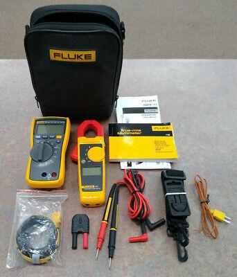 Fluke 116323 Hvac Combo Kit - Includes Multimeter And Clamp Meter