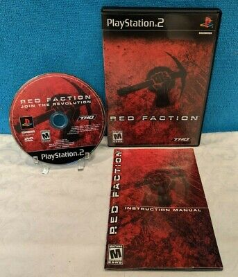 Used, Red Faction (Sony PlayStation 2, 2002) Complete & Tested for sale  Shipping to Nigeria