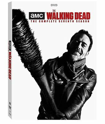 The Walking Dead Season 7  Dvd  2017 5 Disc Set  Free Fast Shipping  Brand New