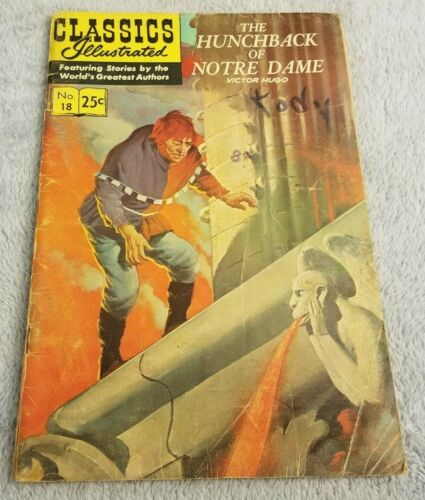 The Hunchback of Notre Dame-Classics Illustrated -1970-Gilberton-Comic Book -#18