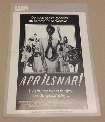 eborah Foreman O'Neal 1986 Danish Movie Press Release Kit (April Oneal)