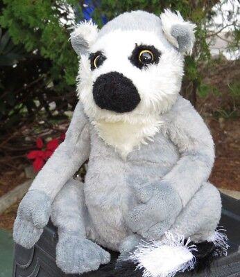 - Ganz Webkinz Ringtailed Lemur Monkey Plush Stuffed Animal Doll LOW PRICE