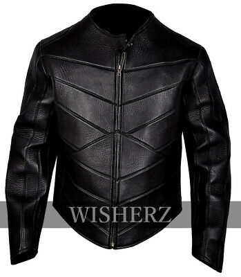 Hobbs and Shaw Idris Elba Black Leather Jacket sizes available (XXS to 5XL)