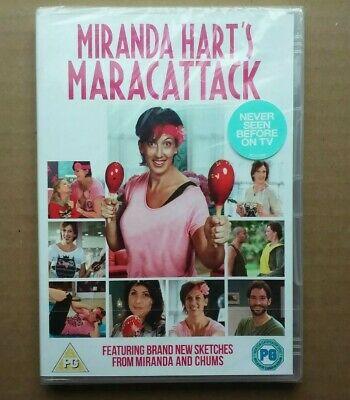 Miranda Hart Maracattack - Comedy Exercise / Fitness Workout Tom Ellis (DVD) NEW