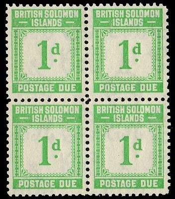 """SOLOMON ISLANDS J1 (SGD1) - Numeral of Value """"Postage Due"""" (pa30259)"""