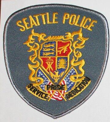 SEATTLE POLICE Washington WA PD patch
