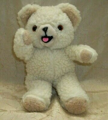 "Vintage 1986 Snuggle Fabric Softener Bear 10"" Plush Lever Brothers Russ"