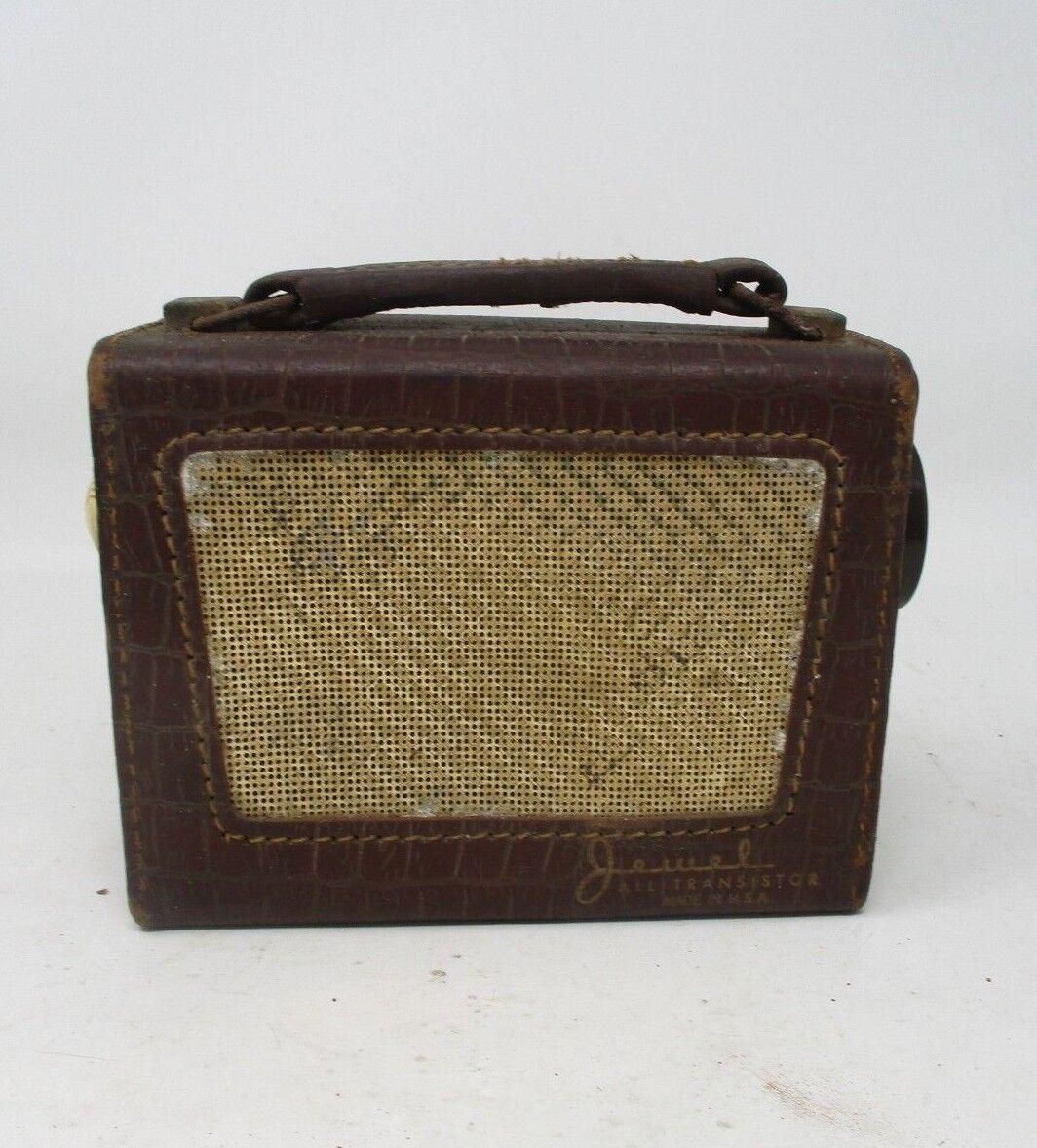 Pre-owned Vintage Jewel All Transistor Radio