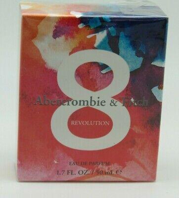 Abercrombie & Fitch 8 REVOLUTION EDP 1.7 oz / 50 ml For Women NEW!!