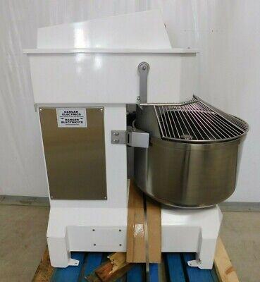 New Doyon Aef050 Commercial Spiral Dough Mixer 175 Lb 100 Quart 2-speed 7hp