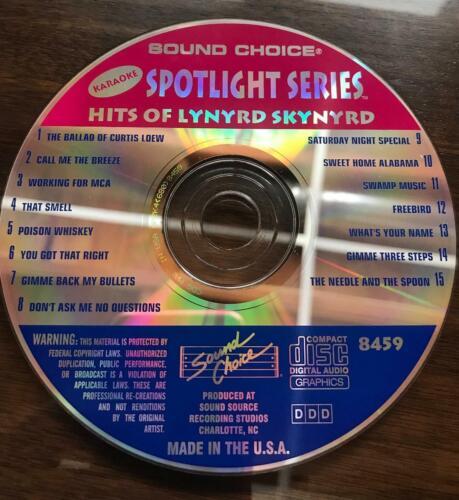 SOUND CHOICE KARAOKE SPOTLIGHT CD+G - 8459 - LYNYRD SKYNYRD- CDG