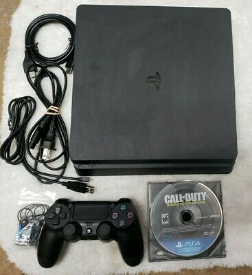 Playstation 4 1tb  Used, Comes with 1 game, controller and cables Ps4 Slim 1tb