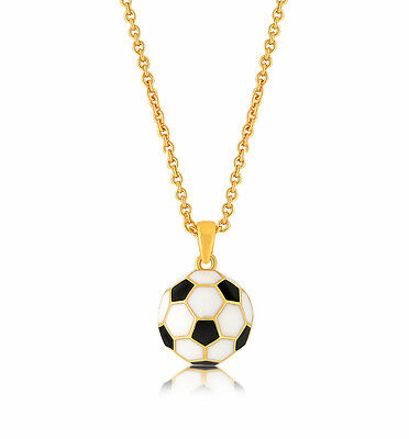 Soccer Necklace Gold Soccer Ball Pendant Charm Fashion Jewelry - Soccer Jewelry
