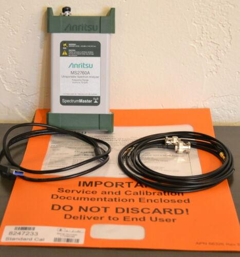 Anritsu MS2760A-0070 Ultra-Portable Spectrum Analyzer 9khz-70GHz CAL
