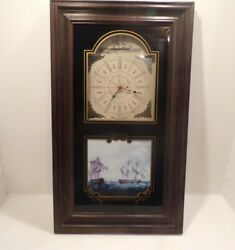 Churchill's London Wooden Wall Clock, Wonder Graphics Design, Vintage, Home and