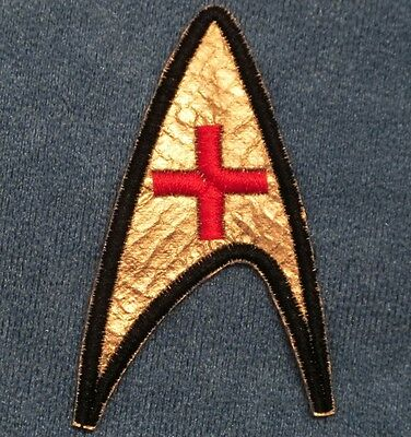 Star Trek TOS Original Series Insignia Patch Medical Enterprise Nurse Chapel